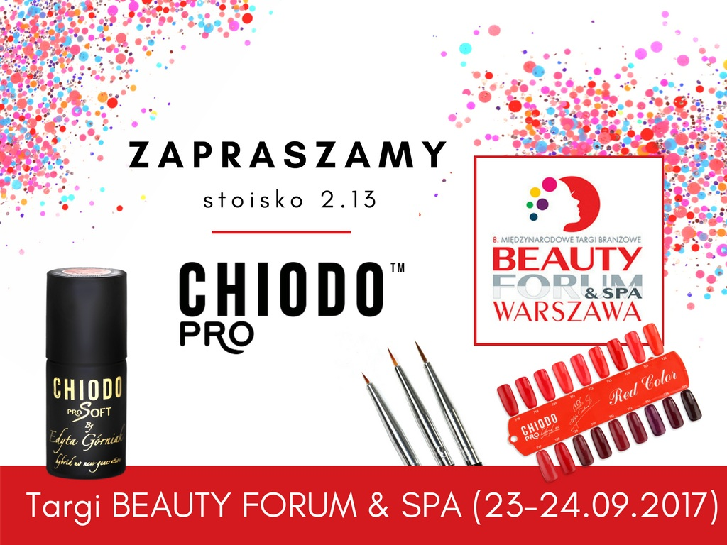 TARGI BEAUTY FORUM & SPA z ChiodoPRO